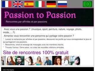 site rencontres passions cherche femme algerie pour mariage