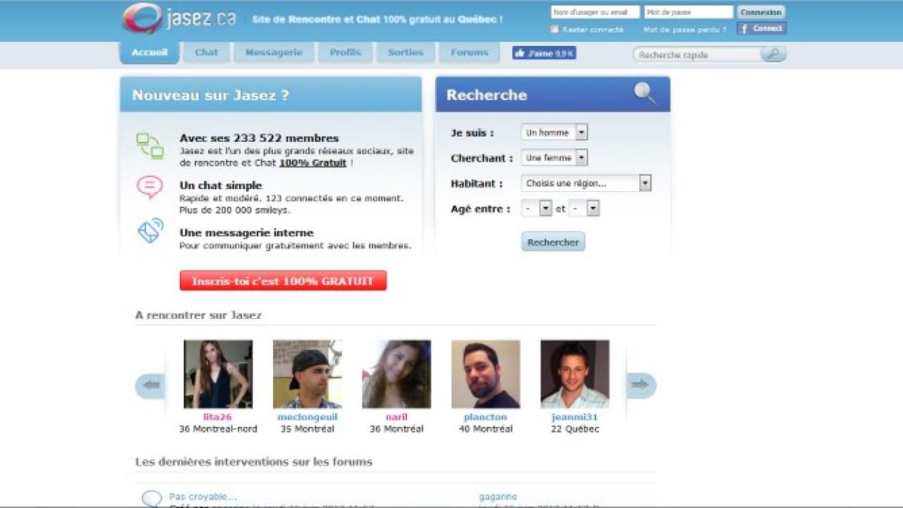 site rencontre gratuite forum