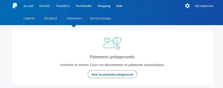 site rencontres paypal
